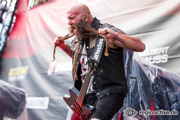 Die harte Seite Kaliforniens - Intensiv: Bilder von Five Finger Death Punch live bei Rock am Ring 2017