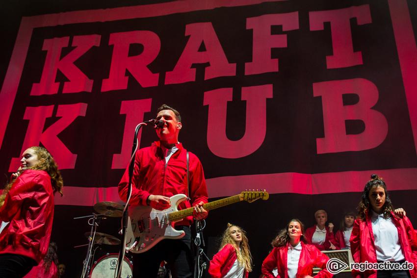 Kraftklub (live bei Rock am Ring, 2017)