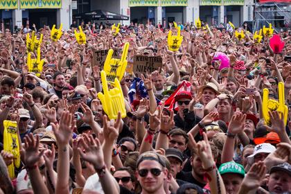 Hier spielt die Musik - Rock am Ring trotzt am Festivalsamstag voller Euphorie dem Terror