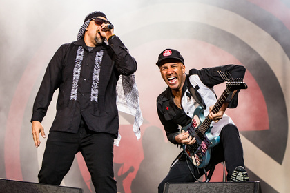 Supergruppe - Wütend: Fotos von Prophets Of Rage live bei Rock am Ring 2017