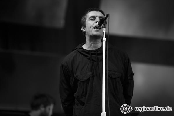 Ex-Oasis-Sänger - Ohne Mimik: Fotos von Liam Gallagher live bei Rock im Park 2017