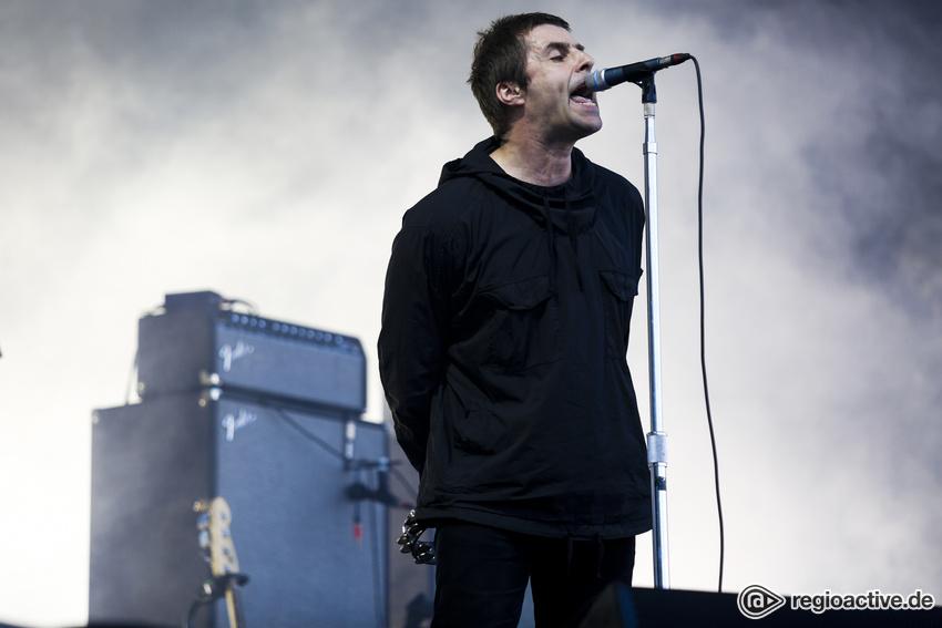 Liam Gallagher (live bei Rock im Park, 2017)