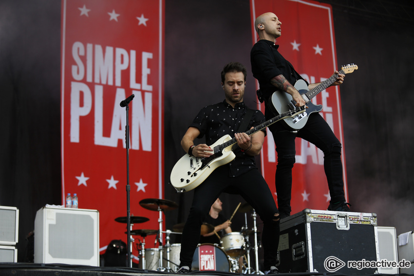 Simple Plan (live bei Rock im Park, 2017)