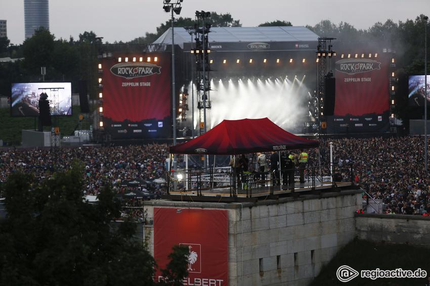 Impressionen vom Samstag (live bei Rock im Park, 2017)