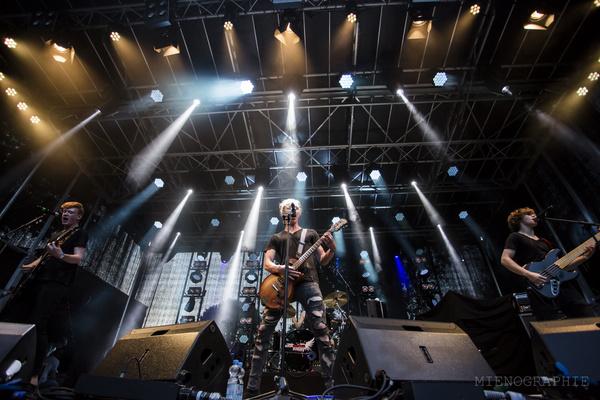 Pop Punk vom Feinsten - Bilder von Talk About Tomorrow live bei der Rockbuster-Vorrunde 2017 in Lahnstein
