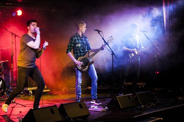 Die Helfer sind da - Bilder von Aid Kit live bei der Rockbuster-Vorrunde 2017 in Trier