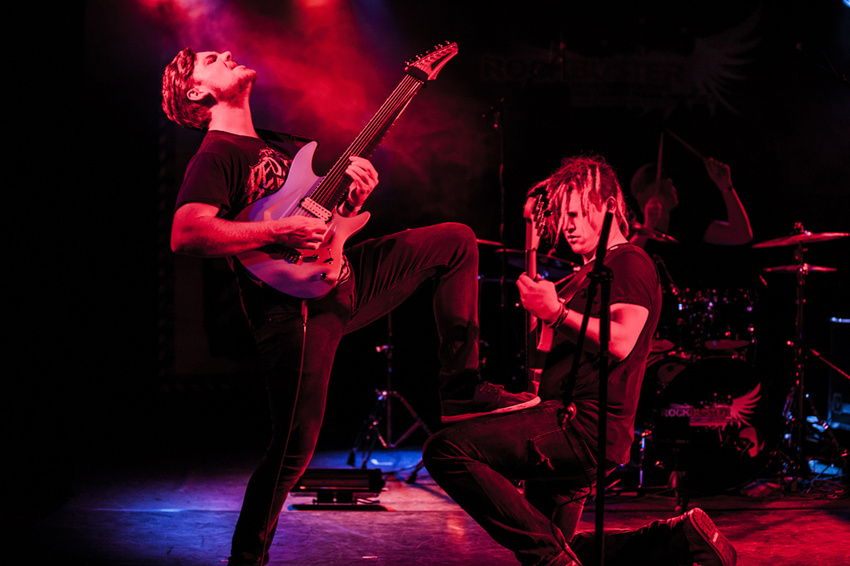 Philosophical Warlords and the Kiss (Live bei der Rockbuster-Vorrunde 2017 in Trier)