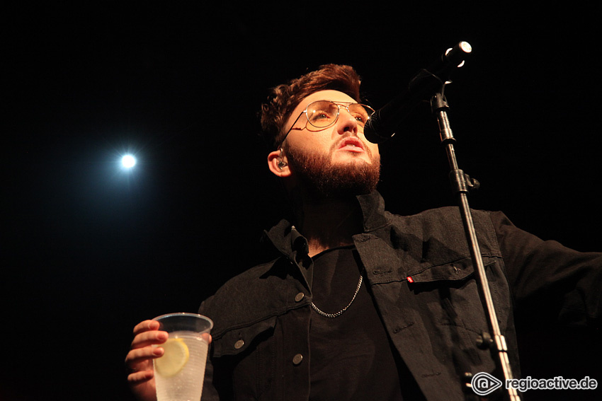 (James Arthur live in Frankfurt am Main, 2017)