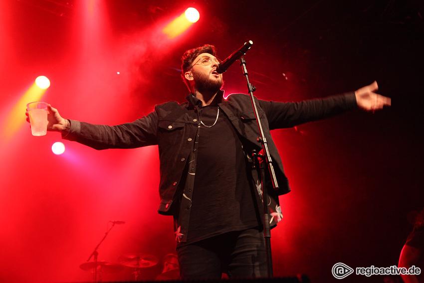(James Arthur live in Frankfurt am Main, 2017)