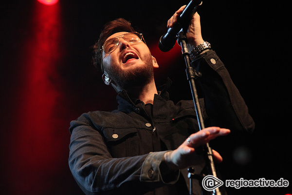 Das Multitalent - James Arthur mutiert in Frankfurt zum Stage-Monster