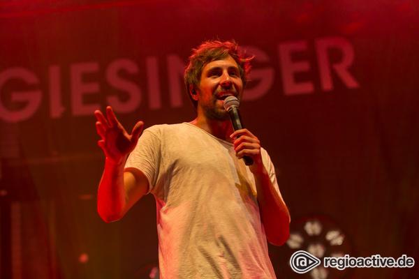 Ohne Überraschungen - Max Giesingers vorhersehbare Show beim Zeltfestival Rhein-Neckar in Mannheim