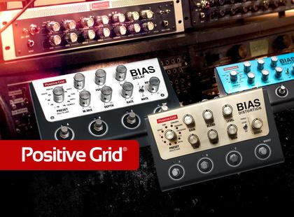 Musik & Technik ist neuer Vertriebspartner von Positive Grid