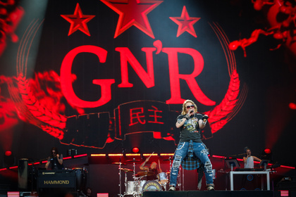 Viele Möglichkeiten - Guns N' Roses: Was passiert mit weiterem Chinese Democracy-Material?
