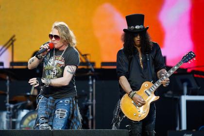 Gitarrengewitter - Guns N' Roses jagen wie ein Tornado durchs Münchner Olympiastadion
