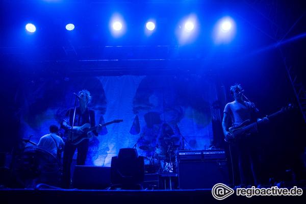 Ausgelöffelt - Spoon: Bilder der Indie-Rocker live auf dem Maifeld Derby 2017