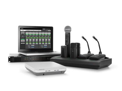 Shure Microflex Wireless jetzt mit High Density Mode verfügbar