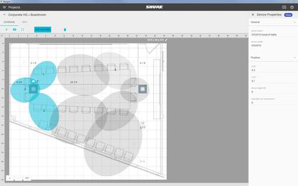 Shure stellt Designer System Configuration Software für Microflex® Advance vor