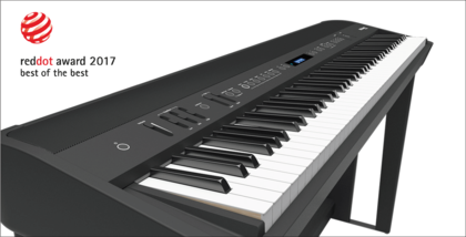 """Roland FP-90 Digital Piano mit dem """"Red Dot Design Award"""" ausgezeichnet"""