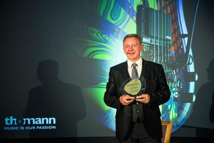 Award of Excellence für Hans Thomann (Musikhaus Thomann)