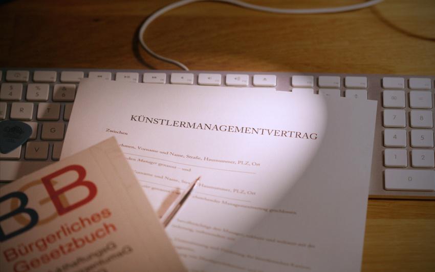 Der Künstlermanagementvertrag Die Wichtigsten Infos Und Ein
