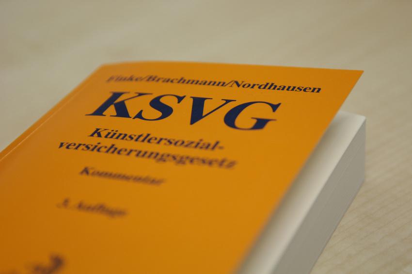 Das KSVG (Künstler-Sozial-Versicherungs-Gesetz)