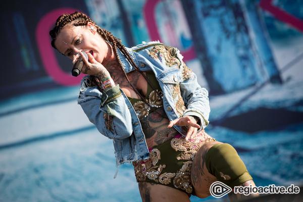 Hengstin - Stimmgewalt: Live-Bilder von Jennifer Rostock live beim Southside Festival 2017