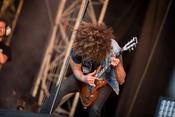 Vintage-Rock: Fotos von Wolfmother live beim Southside Festival 2017