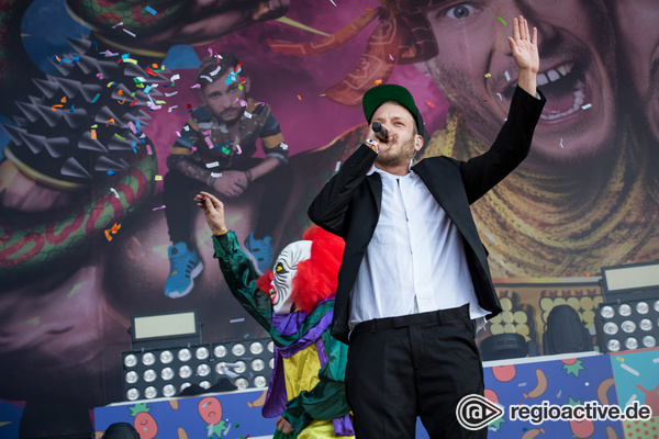Zwei - 257ers: Fotos der Rapper live beim Southside Festival 2017