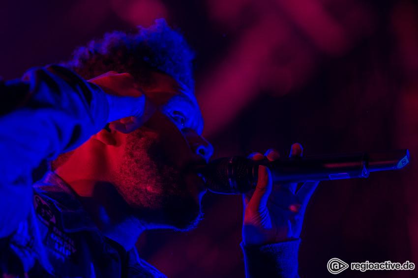 The Weeknd (live beim Wireless Festival, 2017)