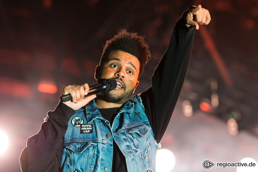 The Weeknd (live beim Wireless Festival, 2017)
