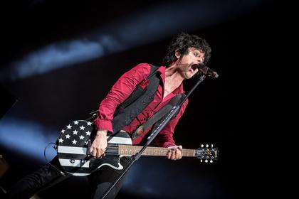Abgebrochen - Green Day: Bilder der Punk-Rocker live beim Southside Festival 2017