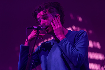 Pink Is The New Black - Rosenkrieg: The 1975 feiern in der Stadthalle Offenbach ein sexy Revival der 80er