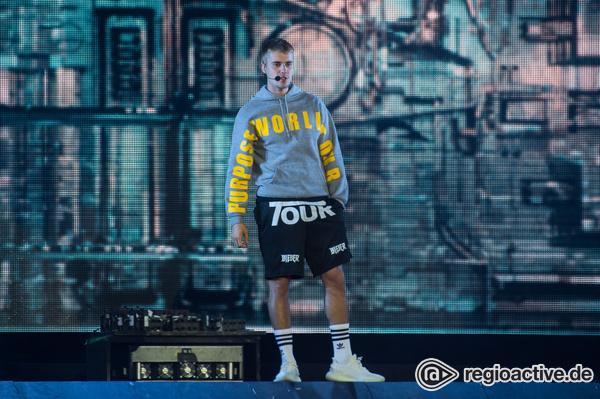 Megastar - Kreischalarm: Justin Bieber beim Wireless Festival 2017