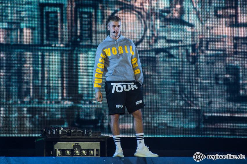 Justin Bieber (live beim Wireless Festival, 2017)