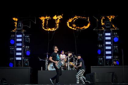 Punkig - Blink-182: Live-Bilder der Punk-Rocker beim Southside Festival 2017