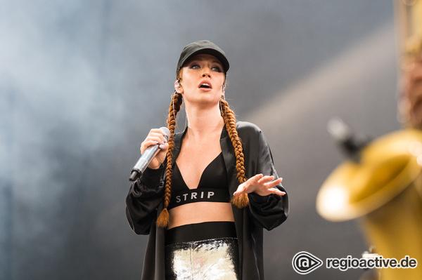 Stimmwunder - Gefühl Pur: Jess Glynne beim Wireless Festival 2017