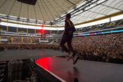 Travis Scott: Bilder des US-Rappers live beim Wireless Festival 2017