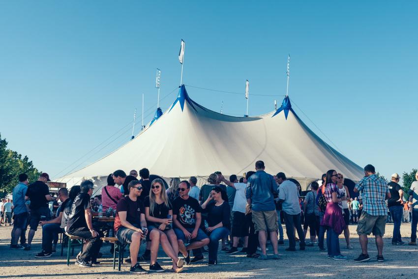 Impressionen vom 2. Zeltfestival Rhein-Neckar (2017)