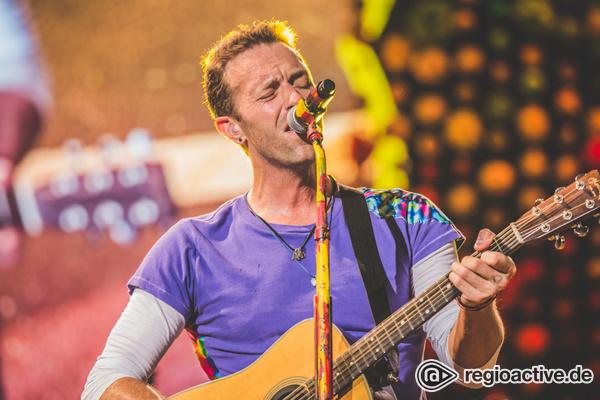 Traumhaft schön - Coldplay versprühen in Frankfurt ein farbenfrohes Wir-Gefühl