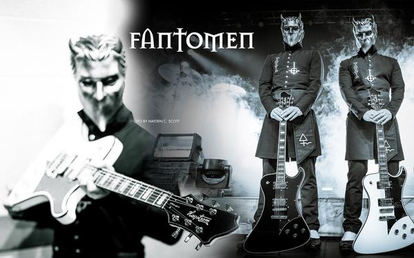 """Unverkennbarer Sound und Design - HAGSTROM präsentiert die """"Fantomen"""", die in Kooperation mit Ghost entstand"""