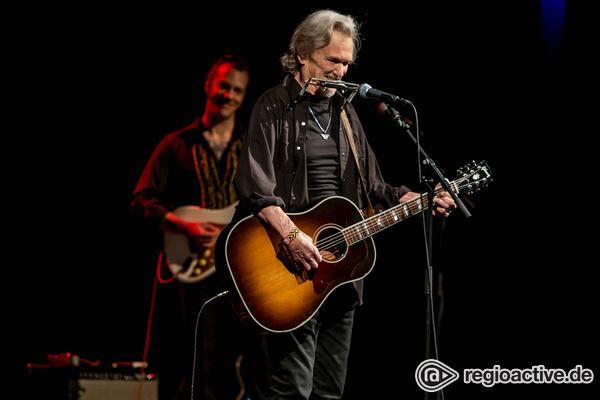 Bei alten Freunden - Alter Cowboy: Fotos von Kris Kristofferson live in Frankfurt