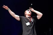Wortspiele: Live-Fotos von Rapper 3Plusss beim Happiness Festival 2017