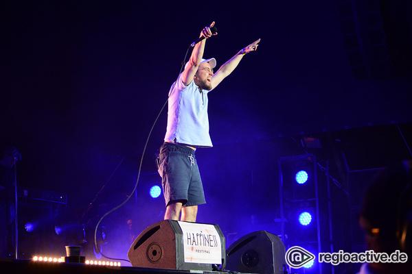 Königliche Momente - Prinz Pi: Livebilder des Rappers beim Happiness Festival 2017