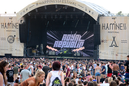 Just happy - Bilder & Bericht: So war das Happiness Festival 2017