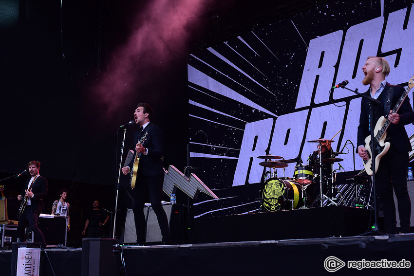Royal Republic (live beim Happiness Festival, 2017)