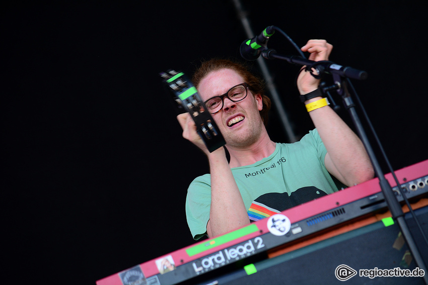 Von Wegen Lisbeth (live beim Happiness Festival, 2017)
