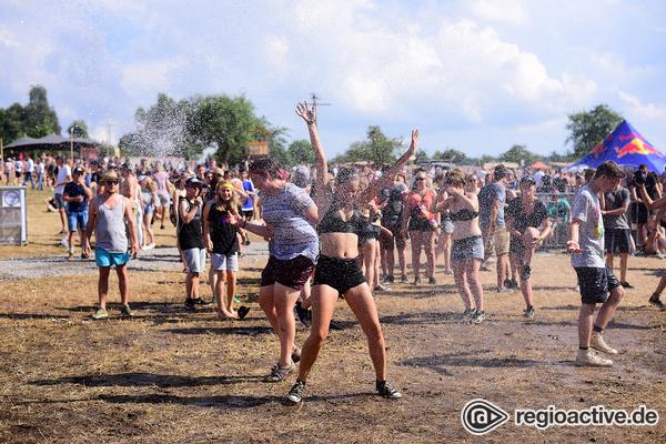 Heißes Wetter und heiße Tänze - Das Happiness Festival 2017 überzeugt mit buntem Genre-Mix