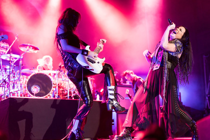 Still in business - Intensiv: Live-Fotos von Evanescence im Palladium Köln