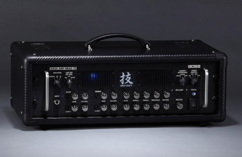 BOSS: Markteinführung des Waza Amp Head 75 Gitarrenverstärker