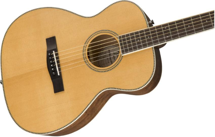 Fender Paramount PM-TE Travel Guitar Naturfarbe